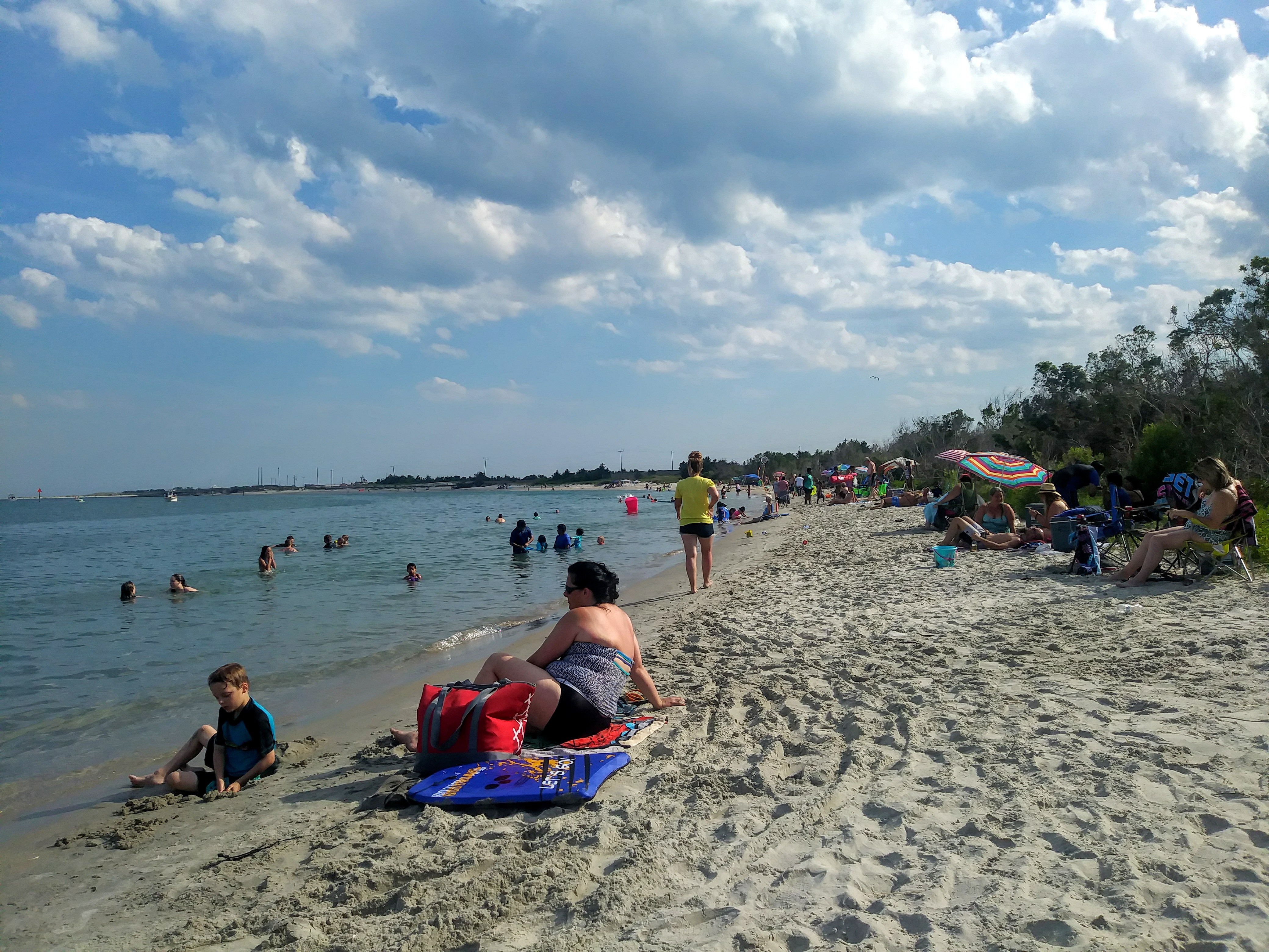 Radio Island Public Beach Access In Beaufort NC And